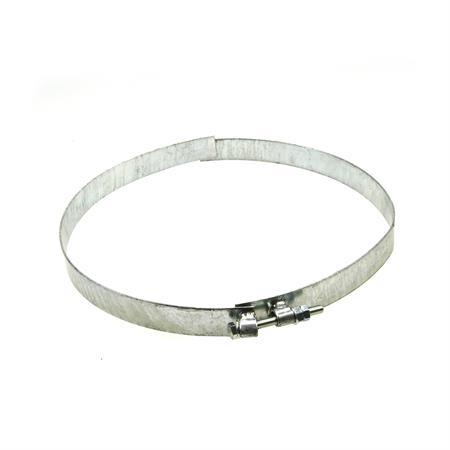 Spannband 2-teilig Ø 350 mm für Annahmetrichter