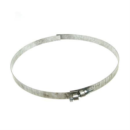 Spannband 2-teilig Ø 450 mm für Annahmetrichter
