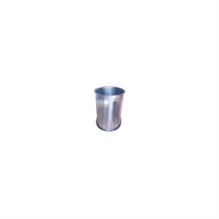 Ablaufrohr gebördelt Ø 120 mm x 0,5 m