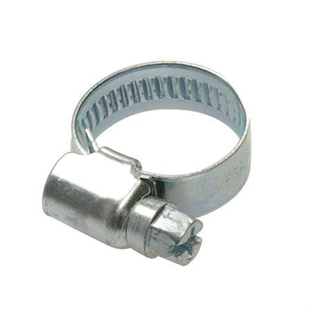 Schneckengewindeschelle verzinkt Ø 16-25 mm