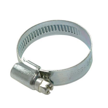 Schneckengewindeschelle verzinkt Ø 32-50 mm