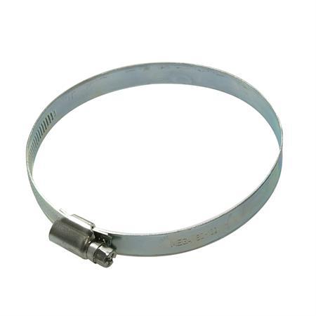Schneckengewindeschelle verzinkt Ø 100-120 mm