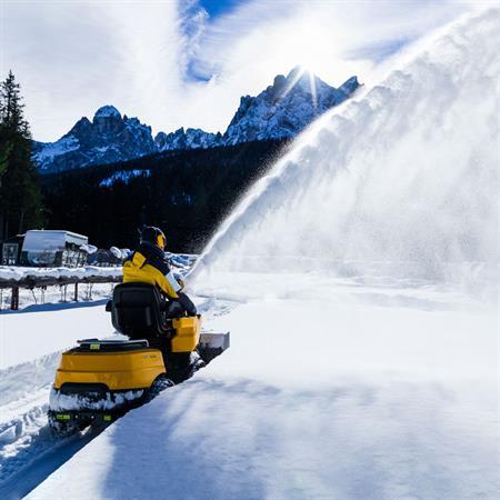 Anbau-Schneefräse für STIGA Park Pro 740 IOX