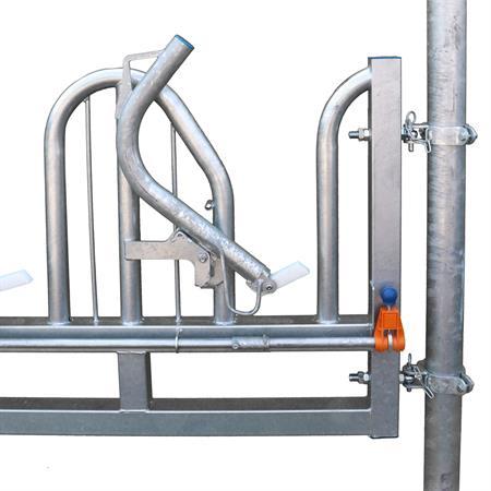Schweden-Fressgitter schwere Ausführung 4 Plätze auf 3 m