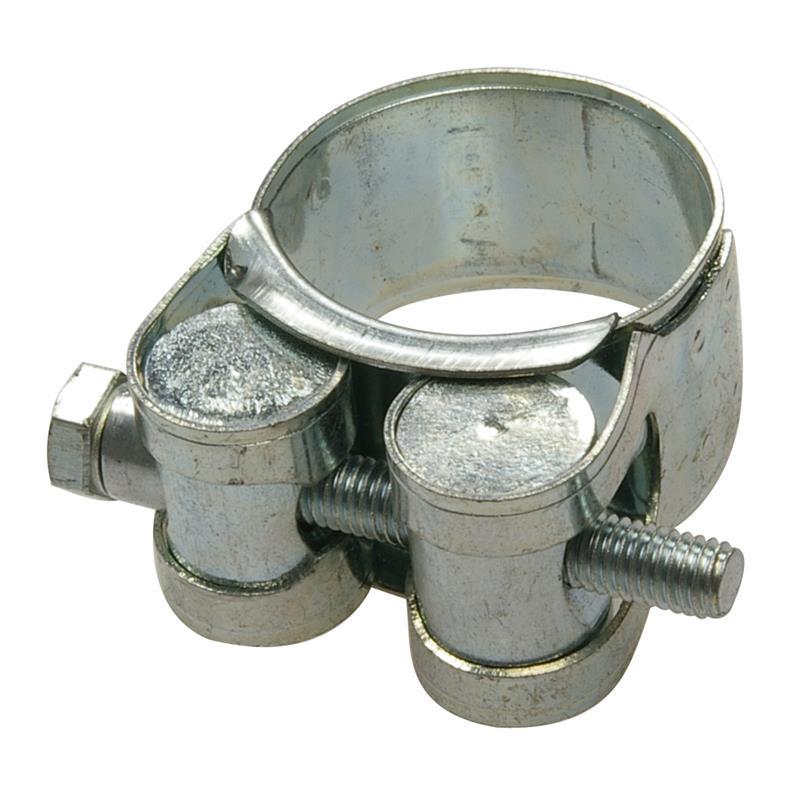 Spannbackenschelle verzinkt 26-28 mm
