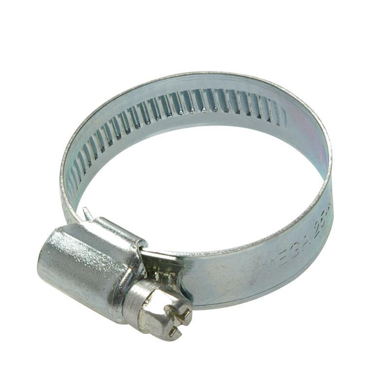 Schneckengewindeschelle verzinkt Ø 25-40 mm