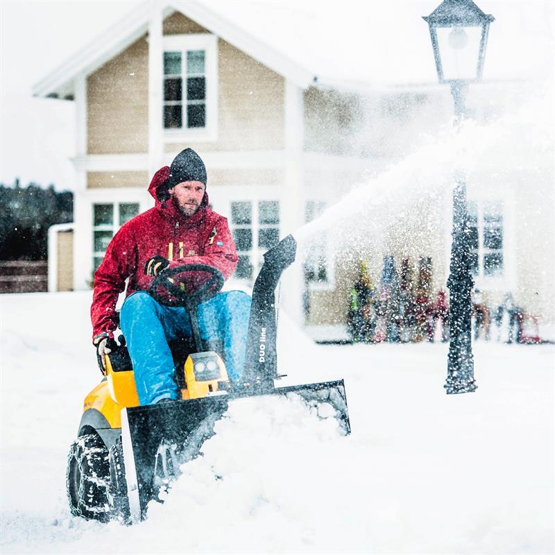 Anbau-Schneefräse für STIGA Park Pro