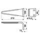 Kreiseleggen-Zinken passend zu Frost 7A48010
