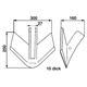 FRANK ORIGINAL Flügelschar passend zu Köckerling 350 mm